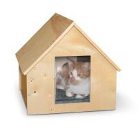 K&H Pet Products Birchwood Manor Kitty House
